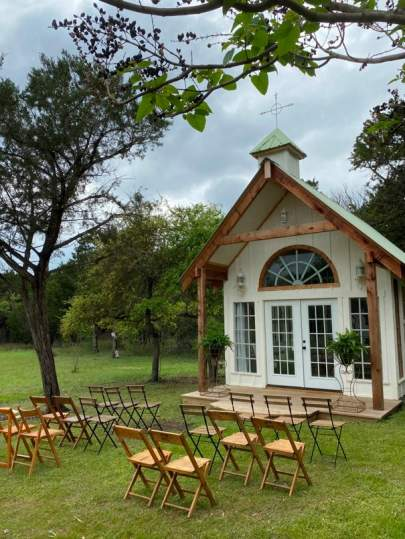 Chapel Outdoor seating